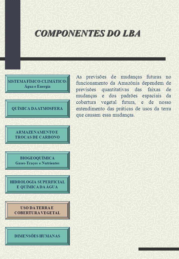 COMPONENTES DO LBA
