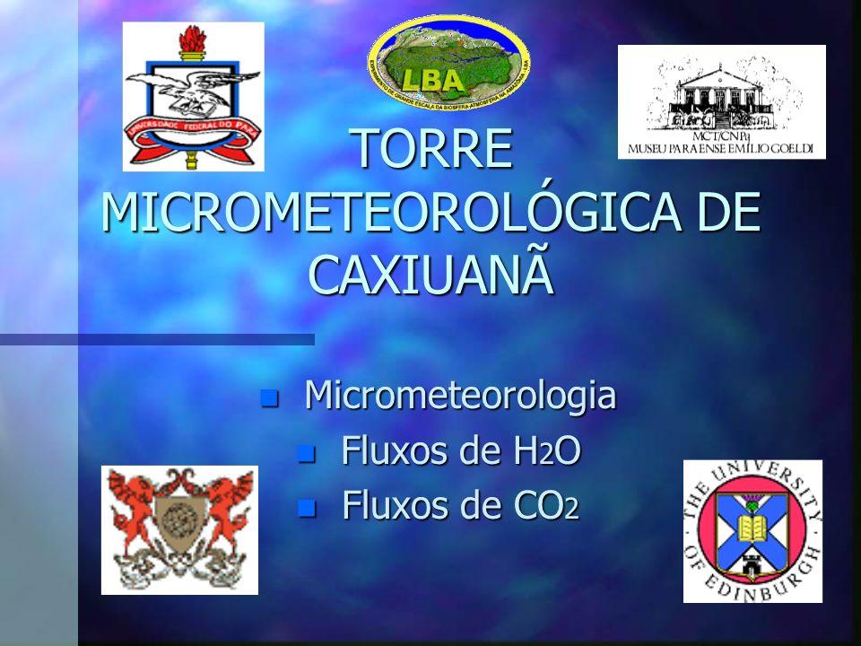 TORRE MICROMETEOROLÓGICA DE CAXIUANÃ