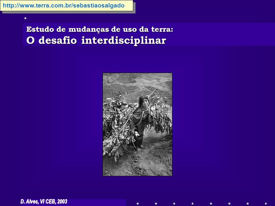 O desafio interdisciplinar