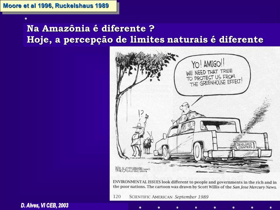 Na Amazônia é diferente