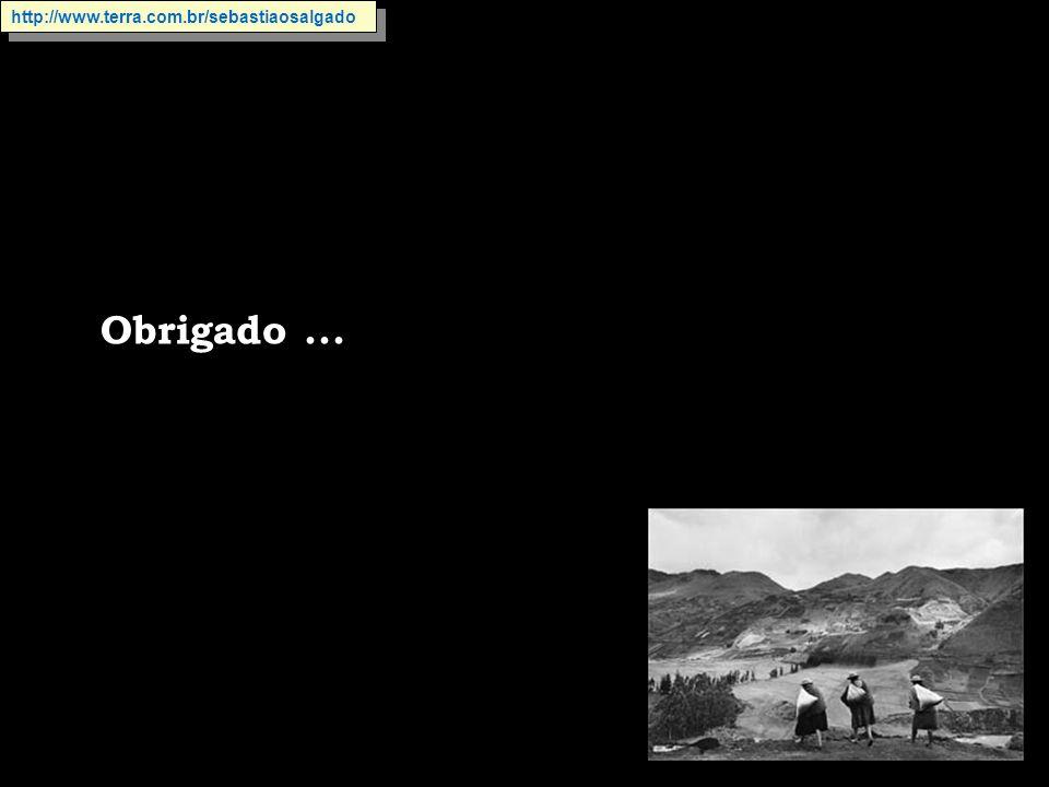 http://www.terra.com.br/sebastiaosalgado Obrigado ...