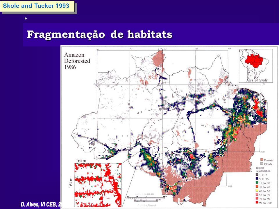 Fragmentação de habitats
