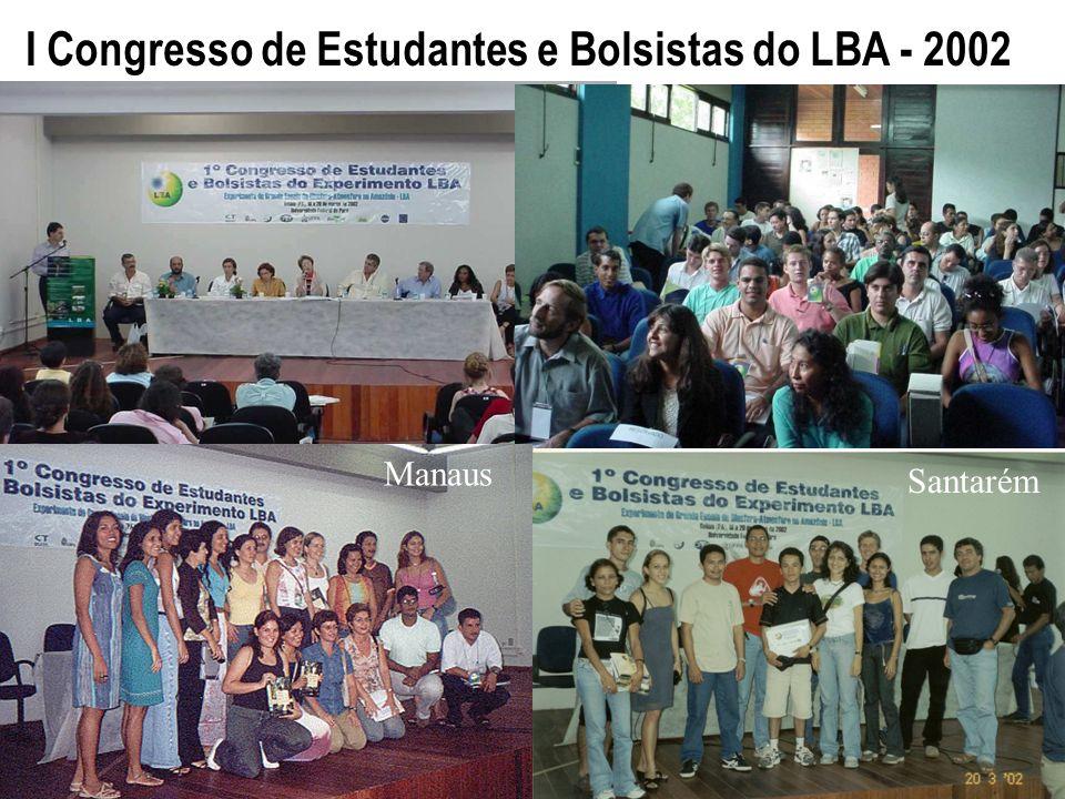 I Congresso de Estudantes e Bolsistas do LBA - 2002