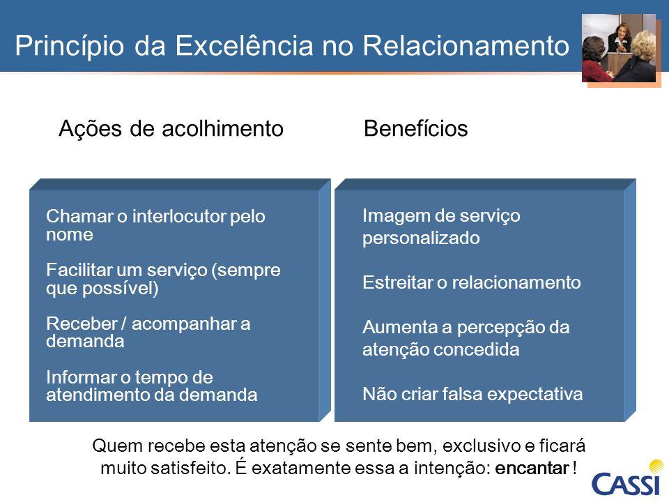 Princípio da Excelência no Relacionamento