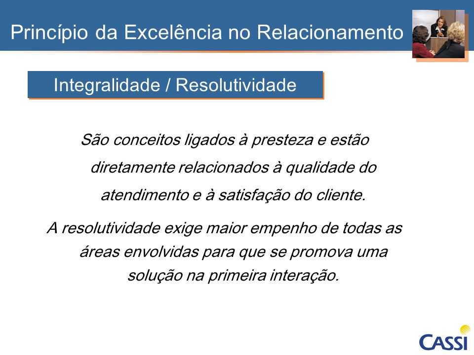 Integralidade / Resolutividade