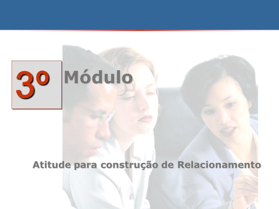 3º Módulo Atitude para construção de Relacionamento