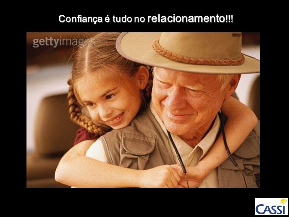 Confiança é tudo no relacionamento!!!