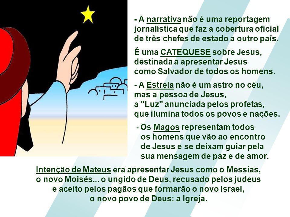 É uma CATEQUESE sobre Jesus,