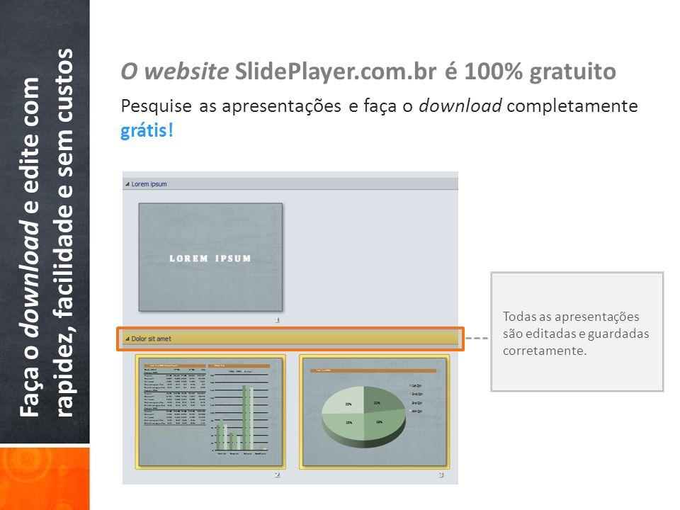 Faça o download e edite com rapidez, facilidade e sem custos