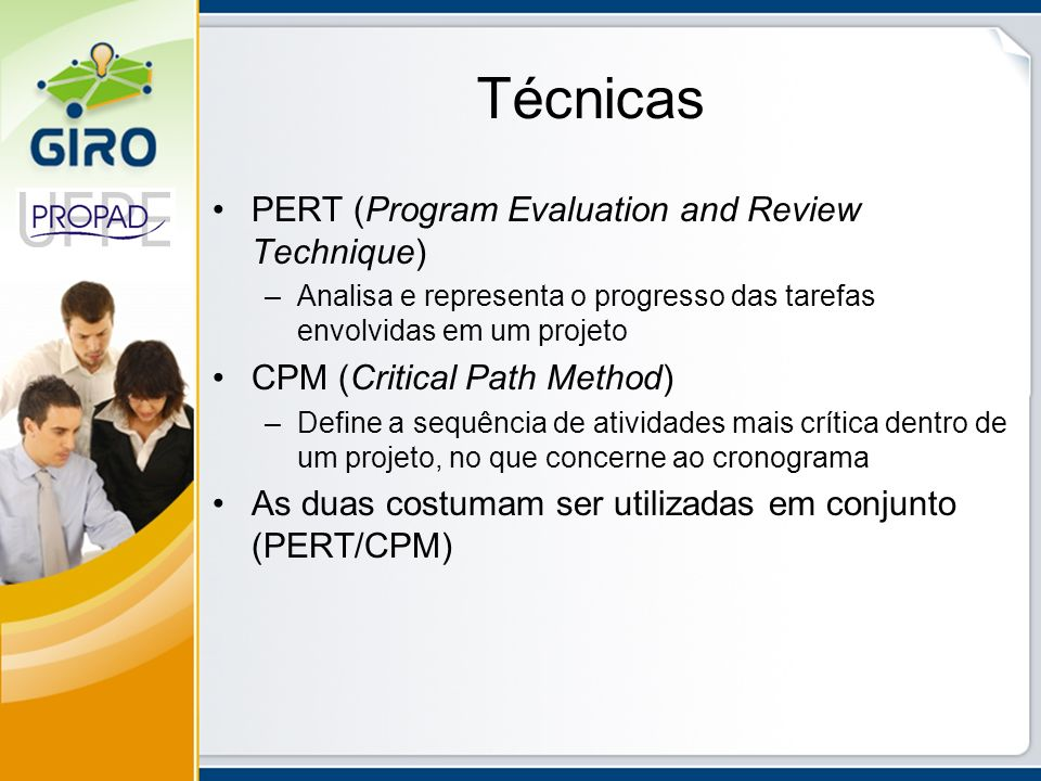 Técnicas PERT (Program Evaluation and Review Technique)