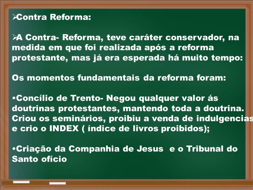 Contra Reforma: