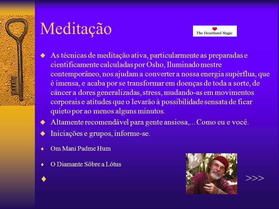 Meditação >>>