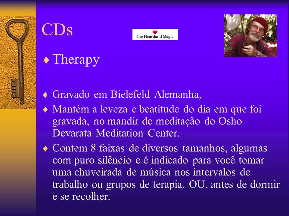 CDs Therapy Gravado em Bielefeld Alemanha,