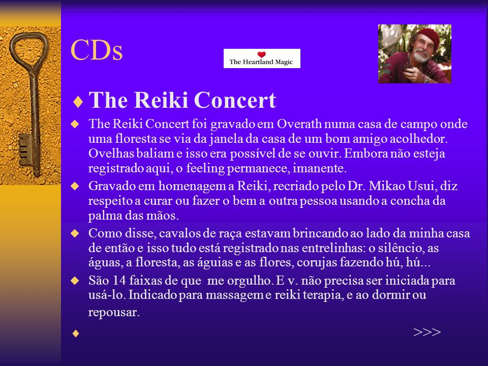 CDs The Reiki Concert >>>