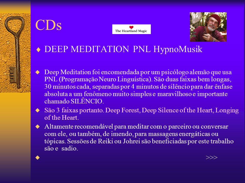 CDs DEEP MEDITATION PNL HypnoMusik