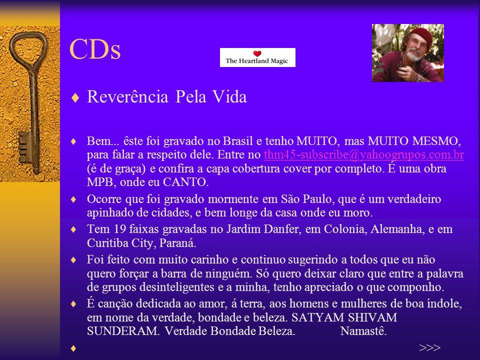 CDs Reverência Pela Vida