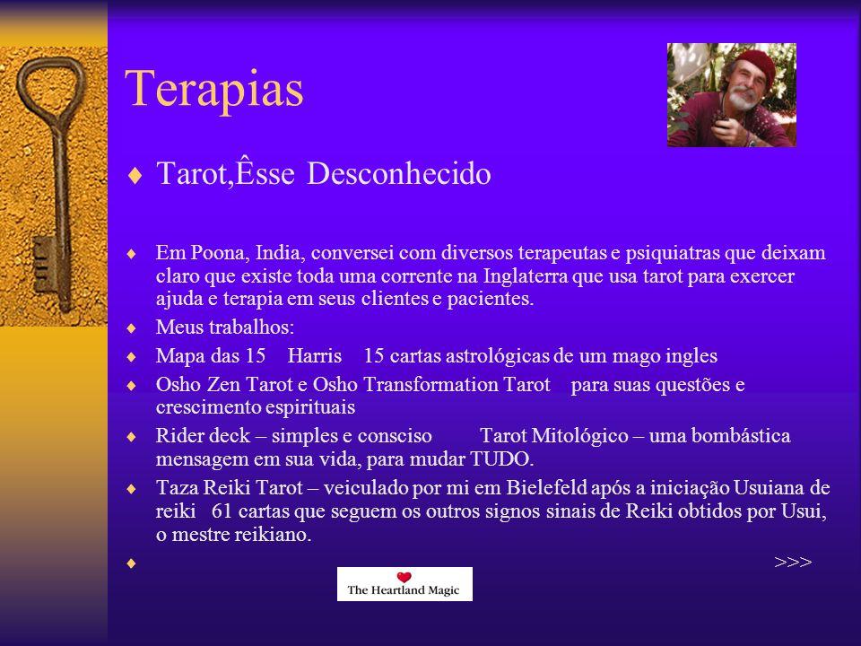 Terapias Tarot,Êsse Desconhecido