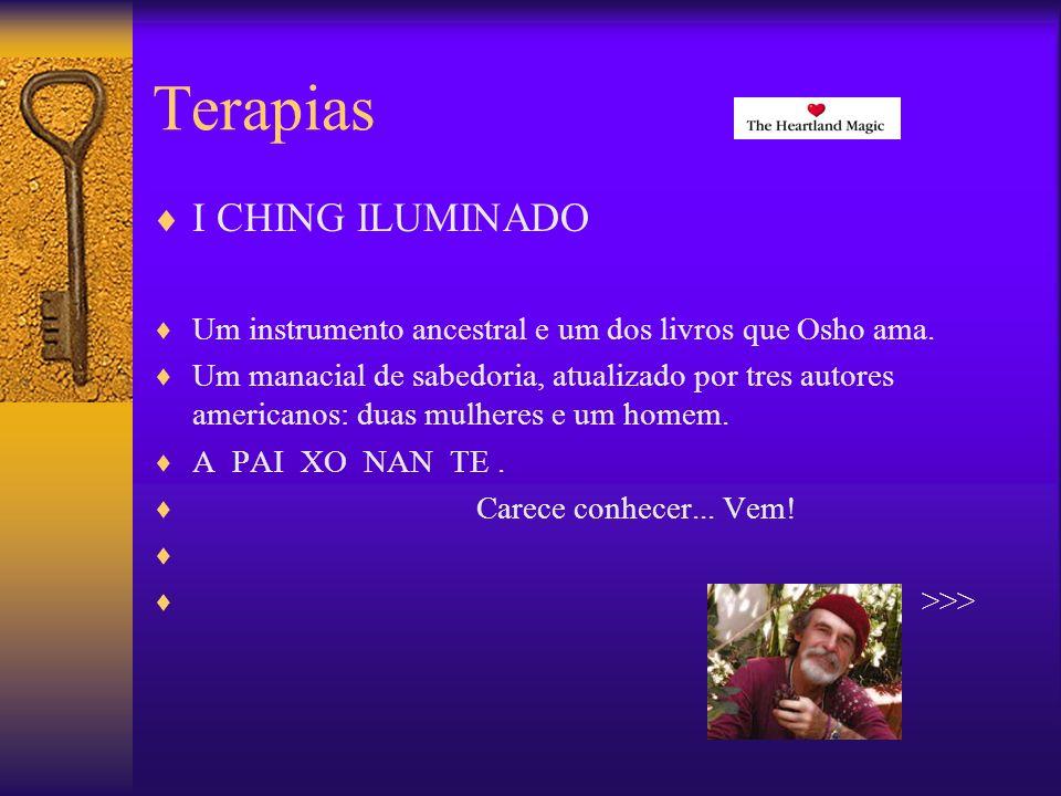 Terapias I CHING ILUMINADO