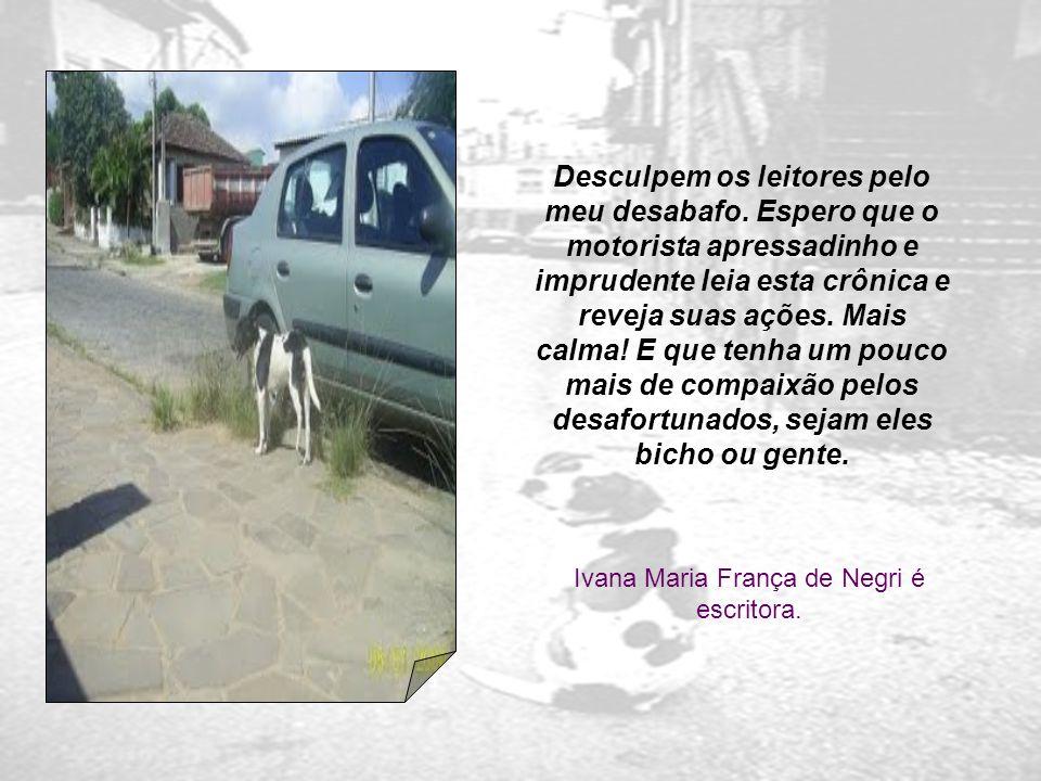 Ivana Maria França de Negri é escritora.