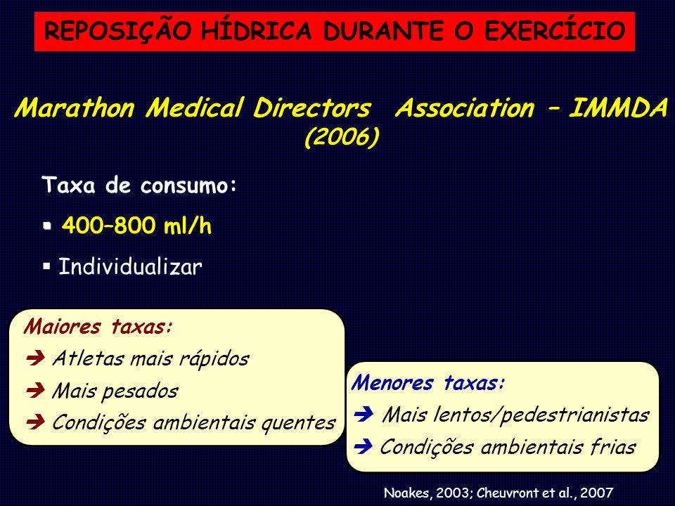Marathon Medical Directors Association – IMMDA (2006)