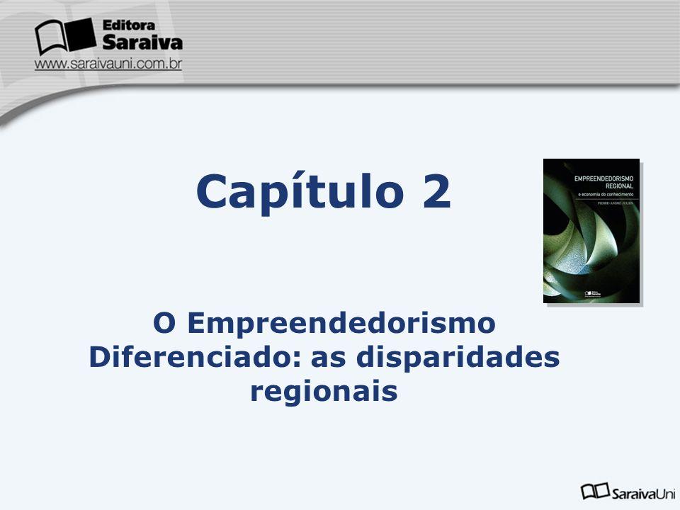 O Empreendedorismo Diferenciado: as disparidades regionais