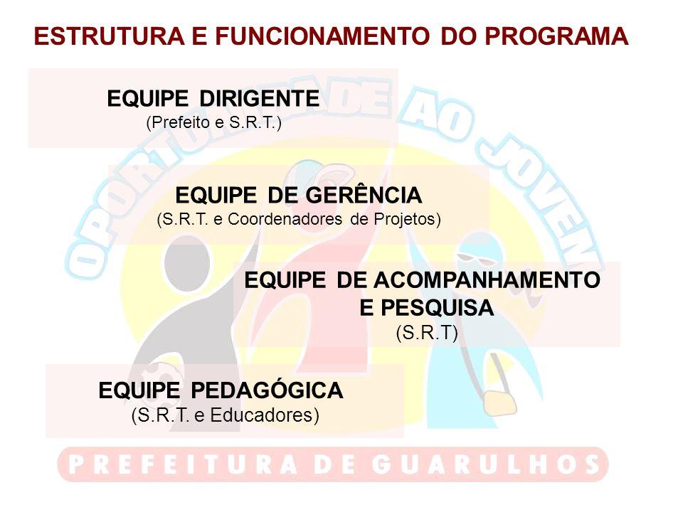 ESTRUTURA E FUNCIONAMENTO DO PROGRAMA EQUIPE DE ACOMPANHAMENTO