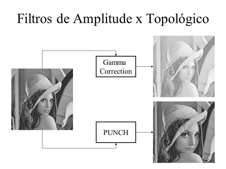 Filtros de Amplitude x Topológico