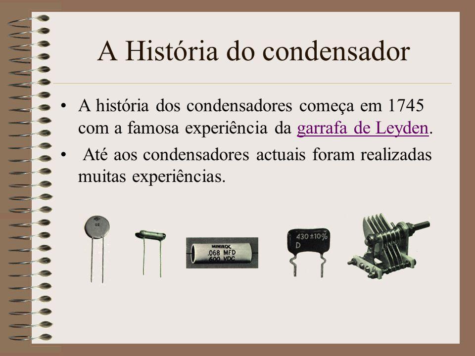A História do condensador