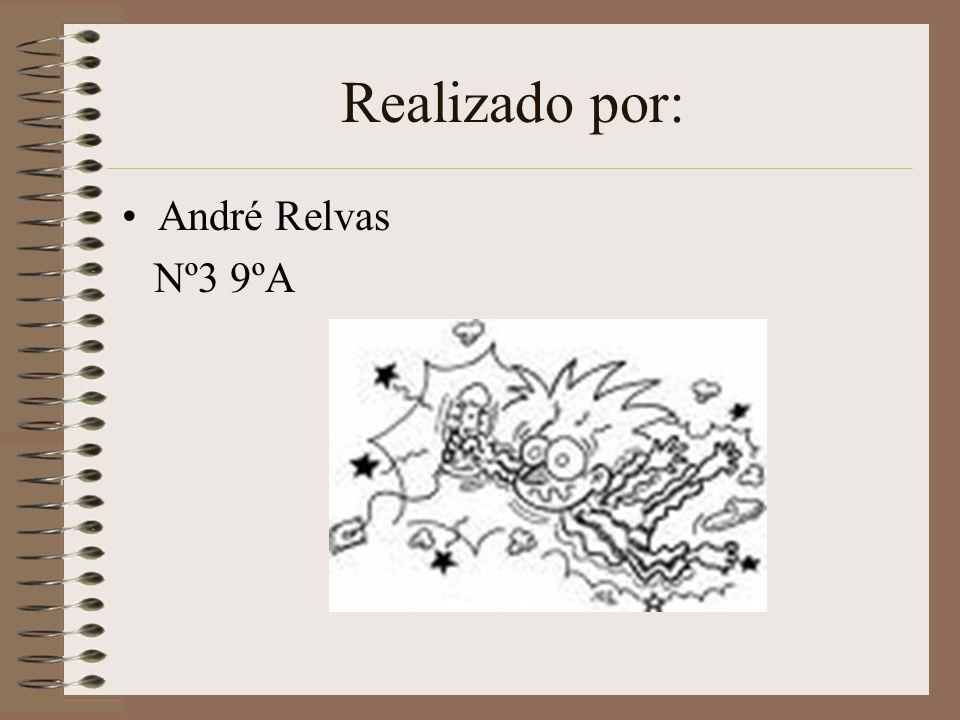 Realizado por: André Relvas Nº3 9ºA