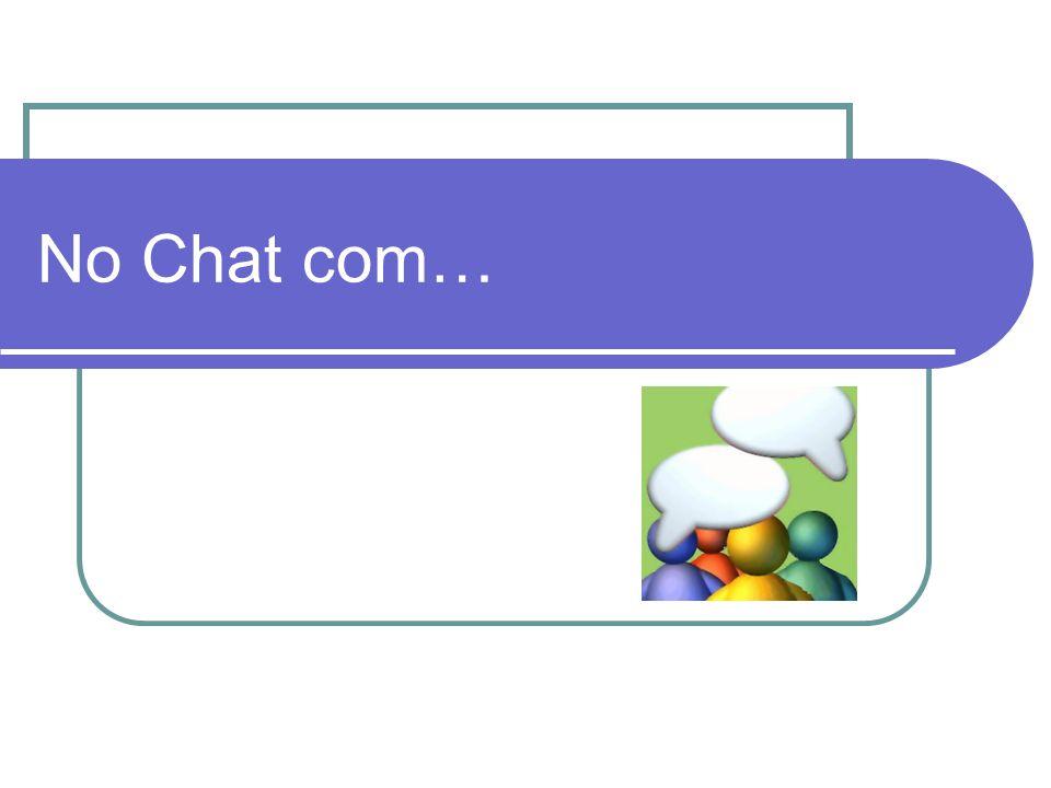 No Chat com…