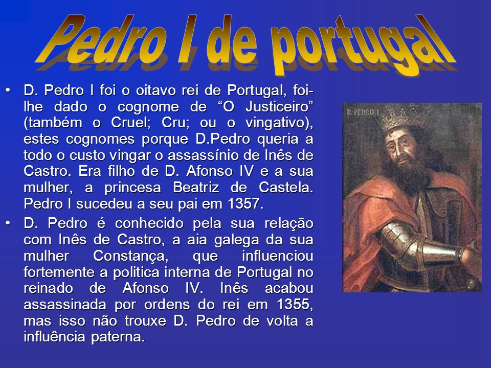 Pedro I de portugal