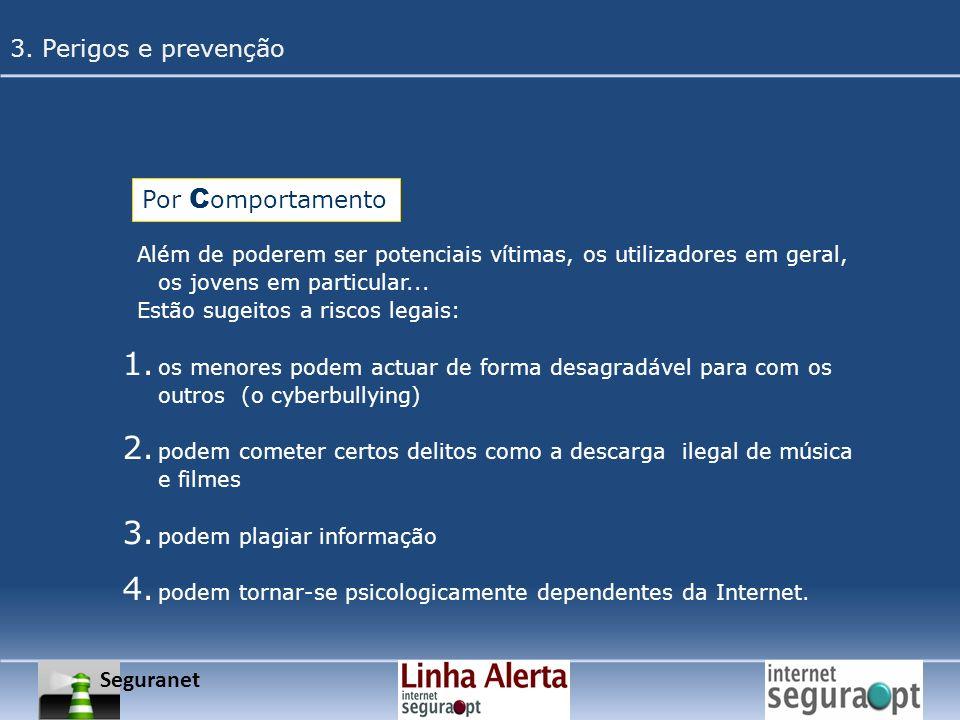 3. Perigos e prevenção Por Comportamento Seguranet