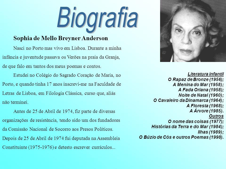 Biografia Sophia de Mello Breyner Anderson