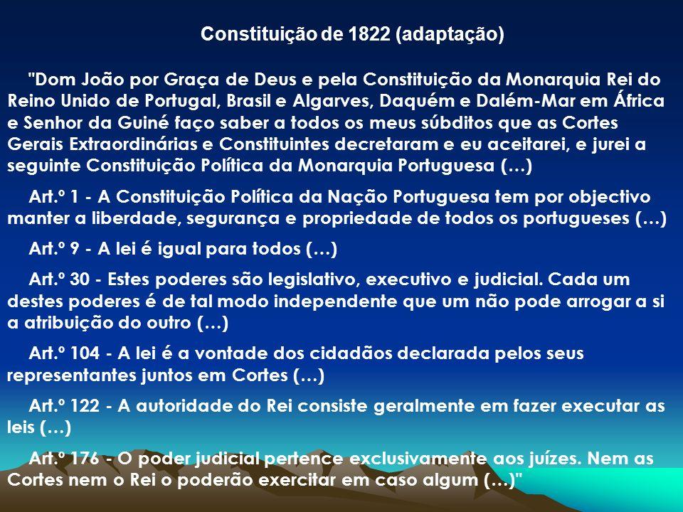 Constituição de 1822 (adaptação)