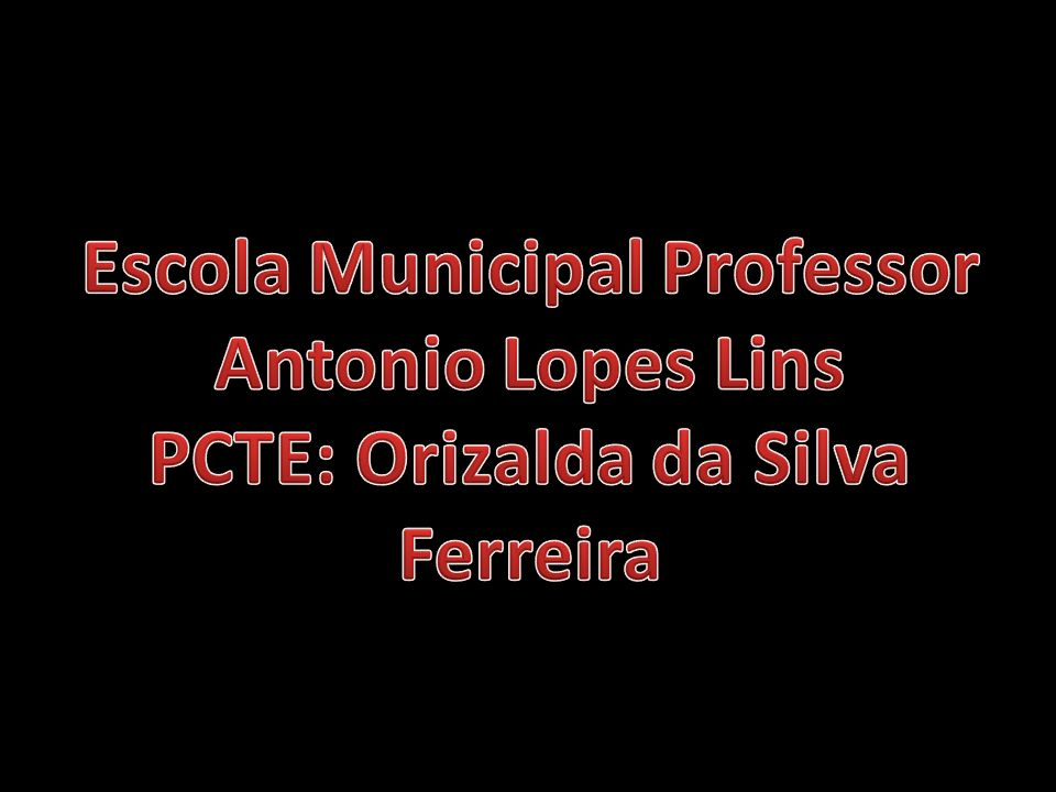 Escola Municipal Professor Antonio Lopes Lins