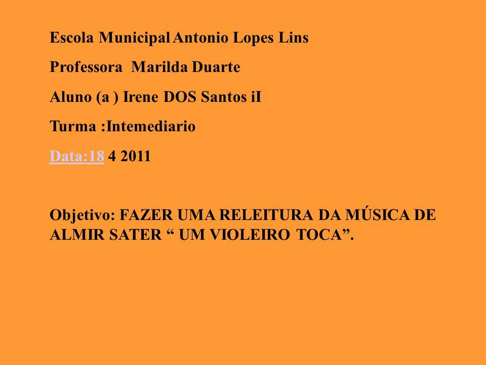Escola Municipal Antonio Lopes Lins