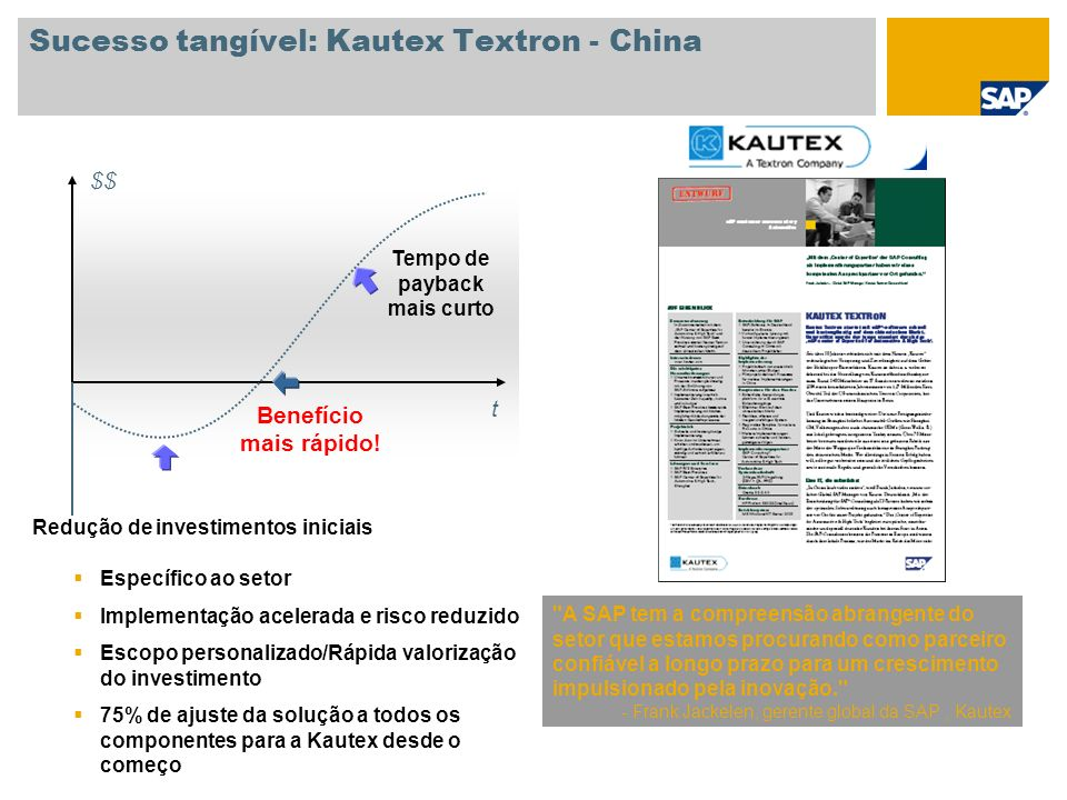Sucesso tangível: Kautex Textron - China