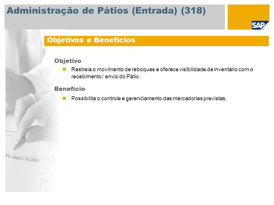 Administração de Pátios (Entrada) (318)