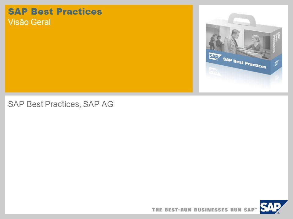 SAP Best Practices Visão Geral