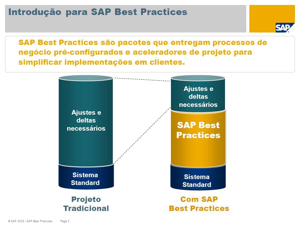 Introdução para SAP Best Practices