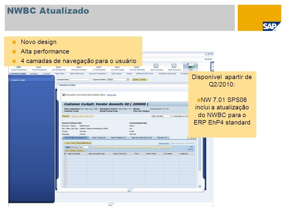 NWBC Atualizado Novo design Alta performance