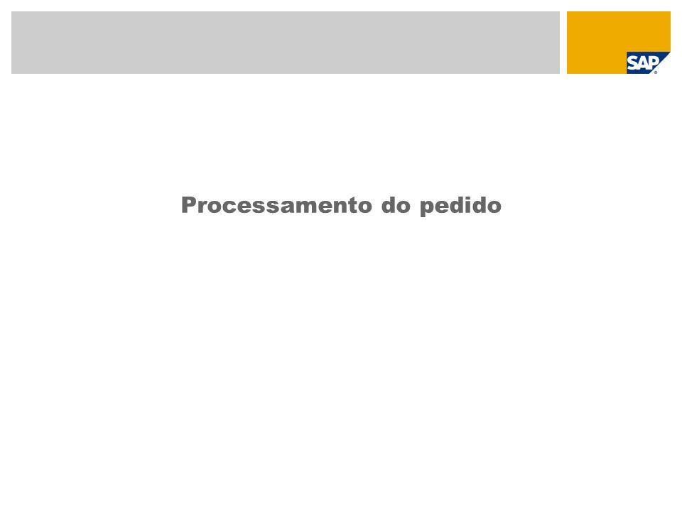 Processamento do pedido