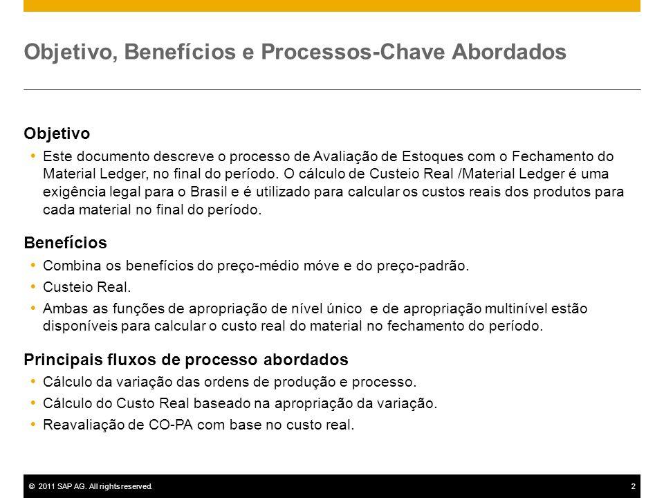 Objetivo, Benefícios e Processos-Chave Abordados