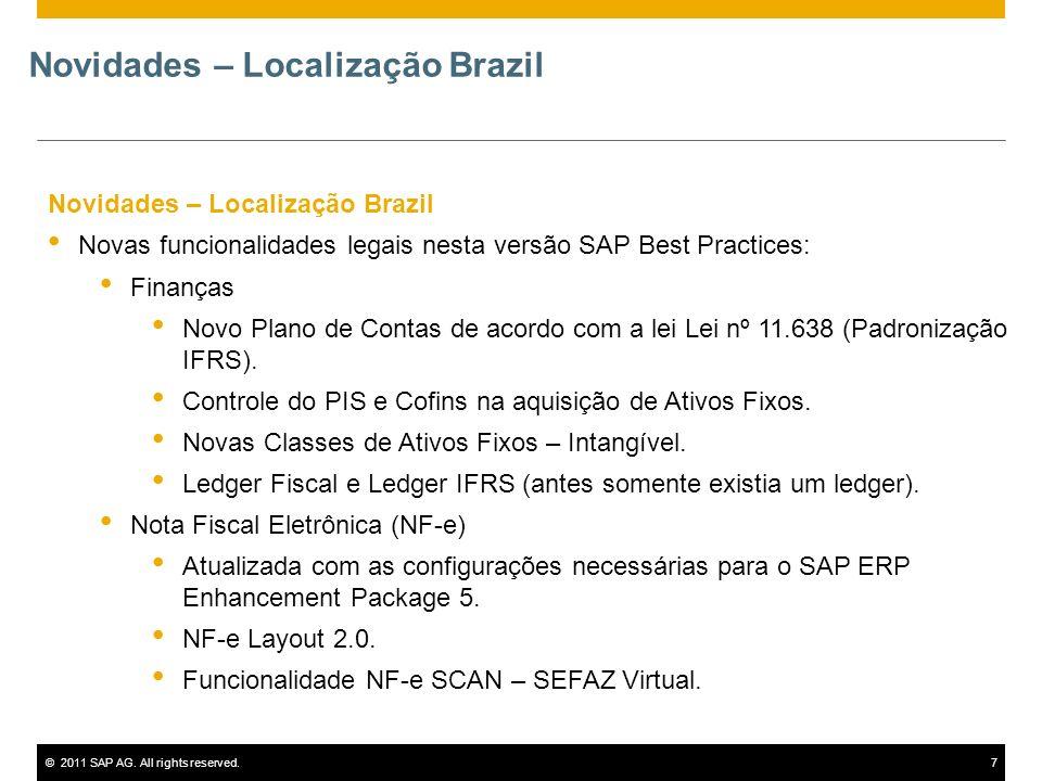 Novidades – Localização Brazil