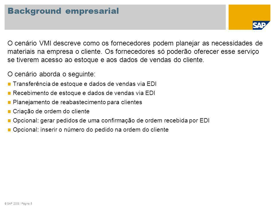 Background empresarial
