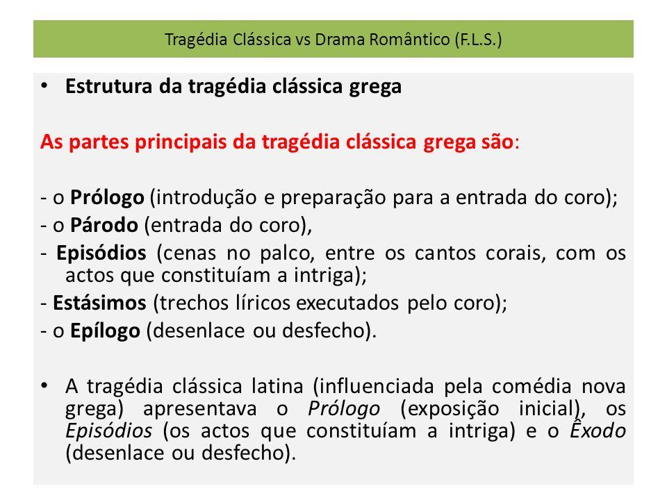 Tragédia Clássica vs Drama Romântico (F.L.S.)