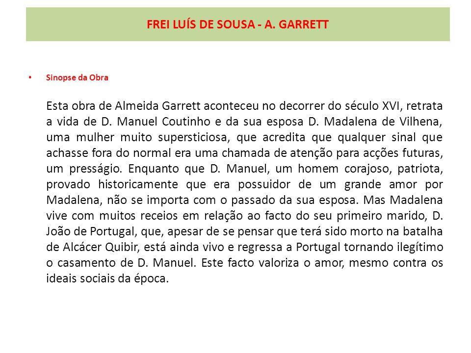 FREI LUÍS DE SOUSA - A. GARRETT