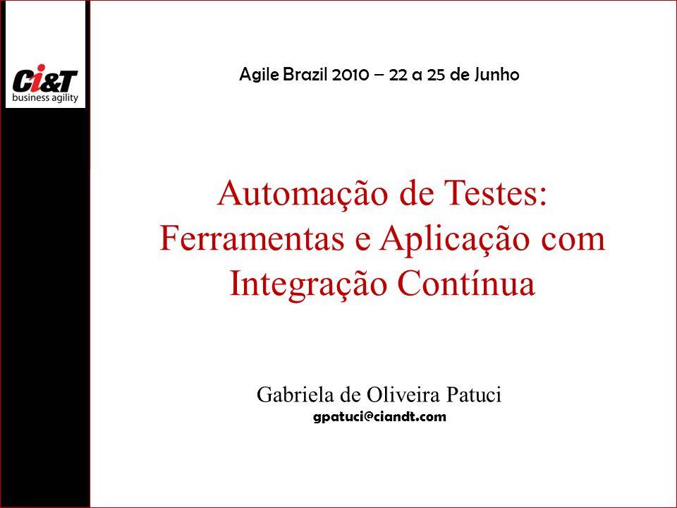 Automação de Testes: Ferramentas e Aplicação com Integração Contínua