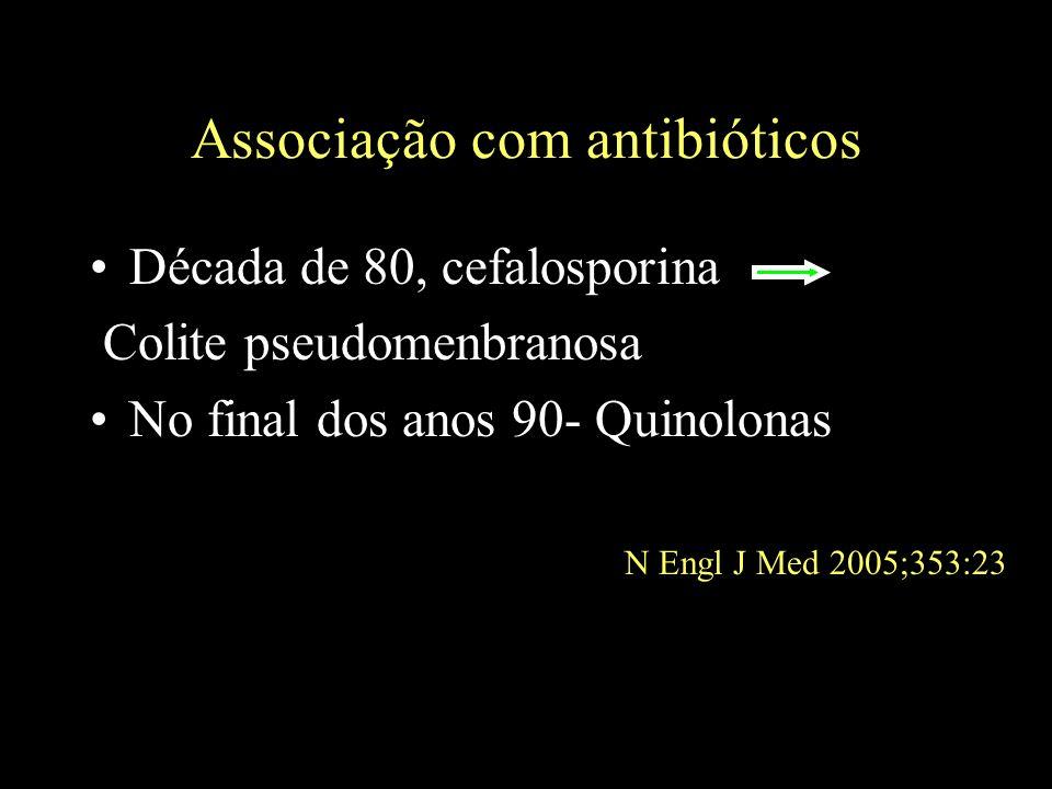 Associação com antibióticos