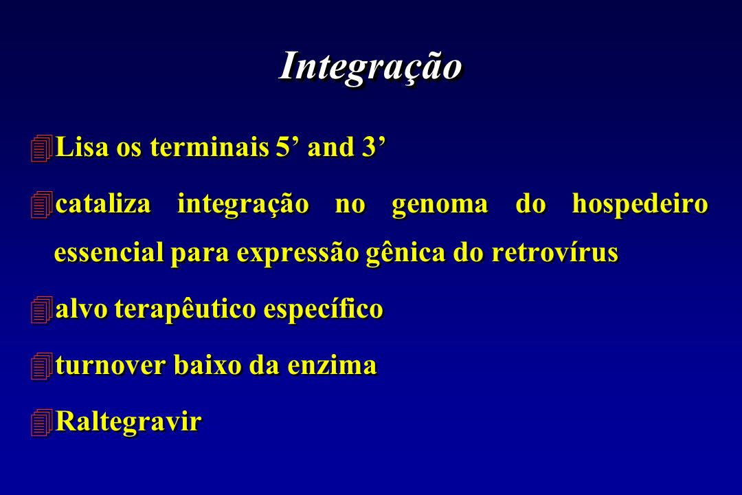 Integração Lisa os terminais 5' and 3'